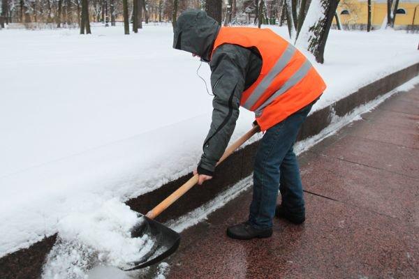 Организация работ по очистки снега с крыши