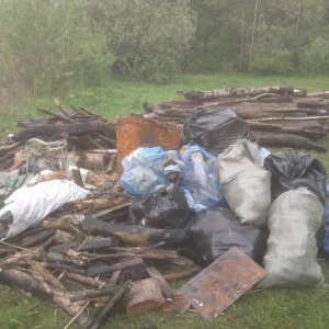 Уборка мусора в Туле
